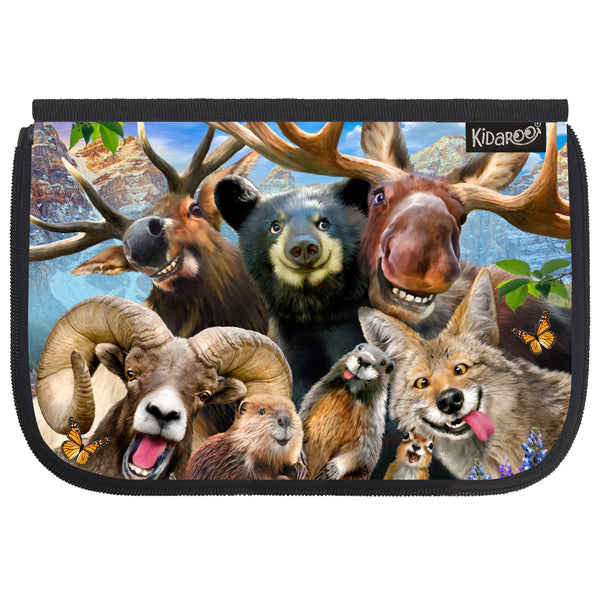 Kidaroo Rocky Mountain Selfies School Lunch Box Flap