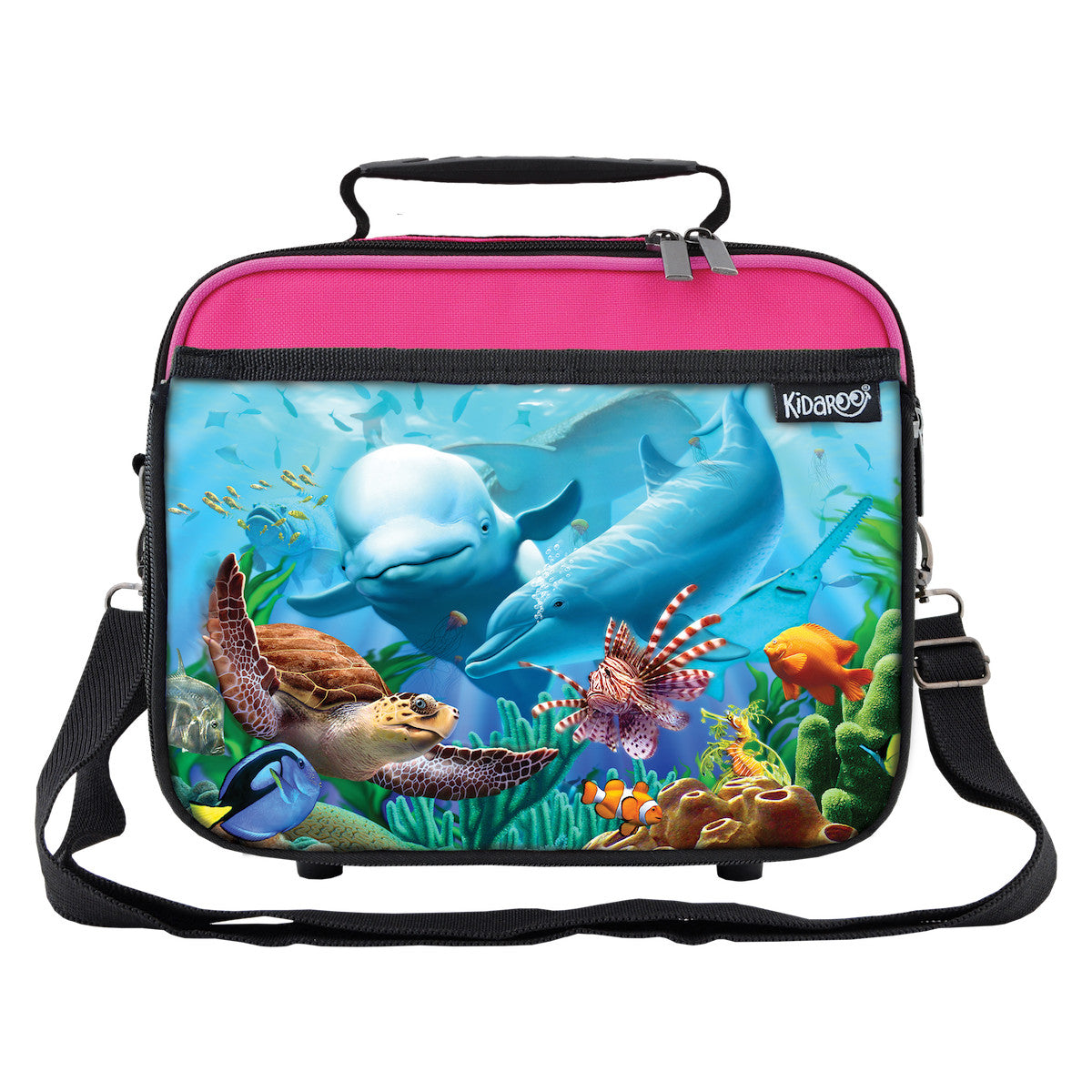 Sea Village School Lunchbox, Tote Bag for Boys, Girls, Kids