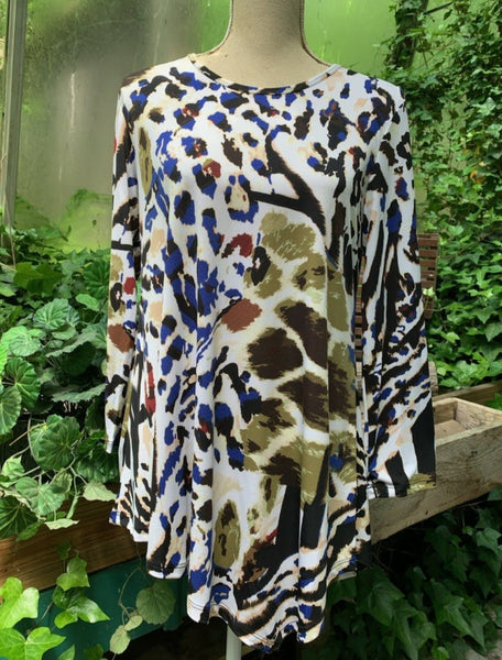 Serengeti Asymmetric Tunic