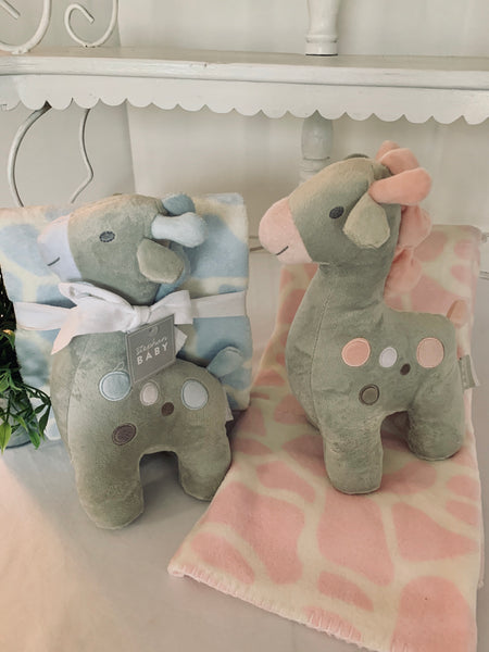 Snuggle Fleece Crib Blanket & Toy