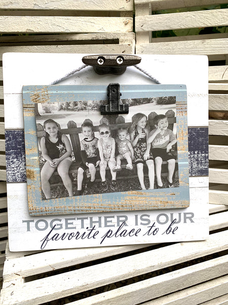 Lake Together Photo Frame