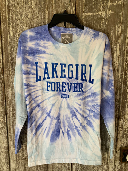 Lake Girl Tie Died Long Sleeve T-shirt