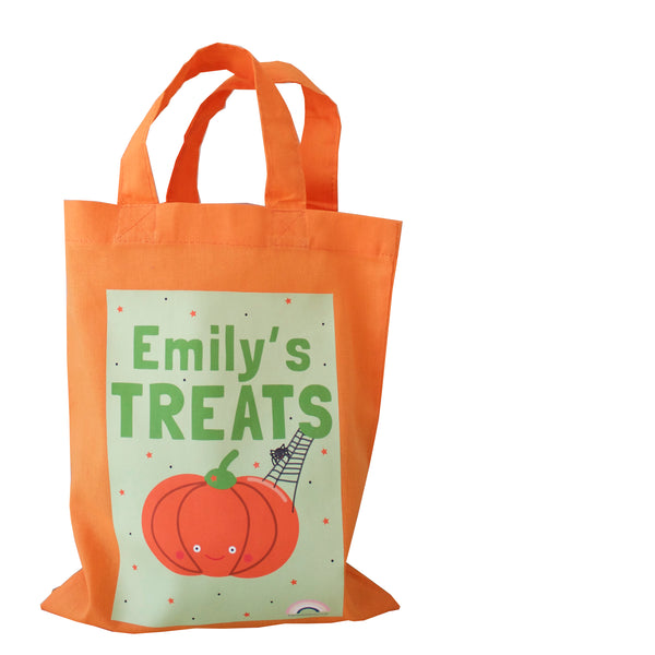 Personalised Mini Tote Bag - Halloween Trick or Treat