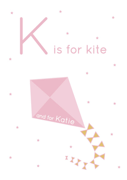 Kite Personalised Print