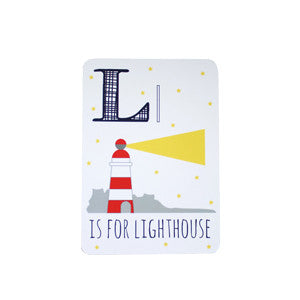 Lighthouse Postcard