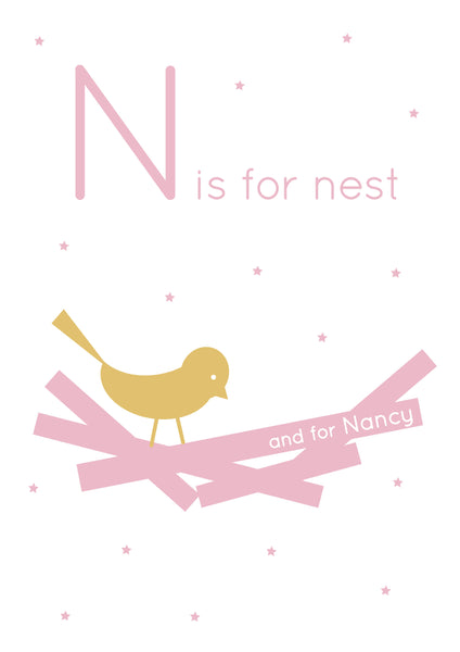 Nest Personalised Print