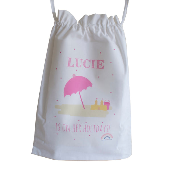 Personalised Holiday Bag - Available in all styles + colours