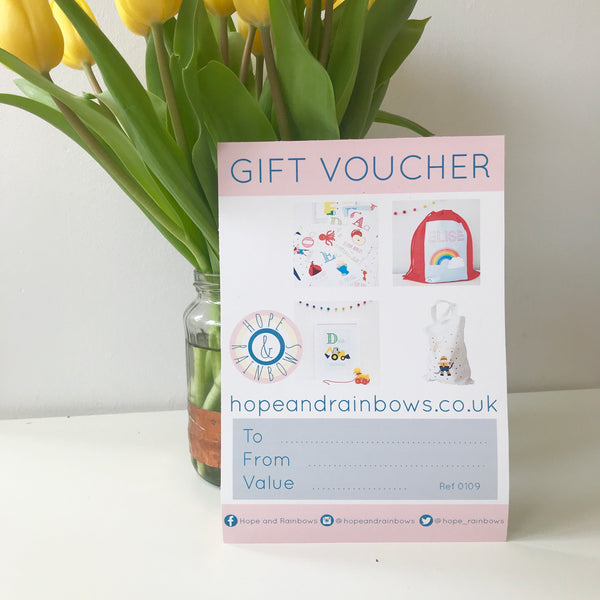 Hope & Rainbows Gift Voucher