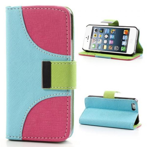 Tapa tricolor Funda iPhone 5/5S/SE