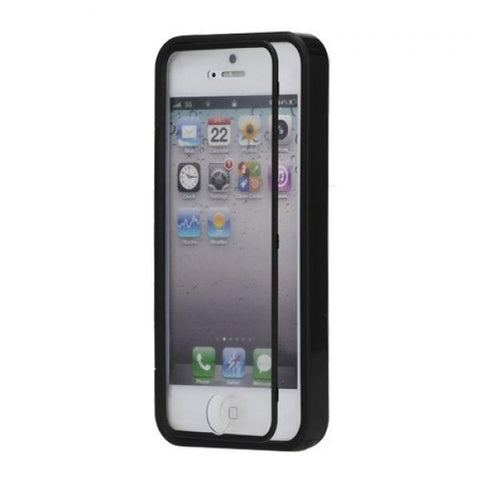 Tapa invisible negro Funda iPhone 5/5S/SE