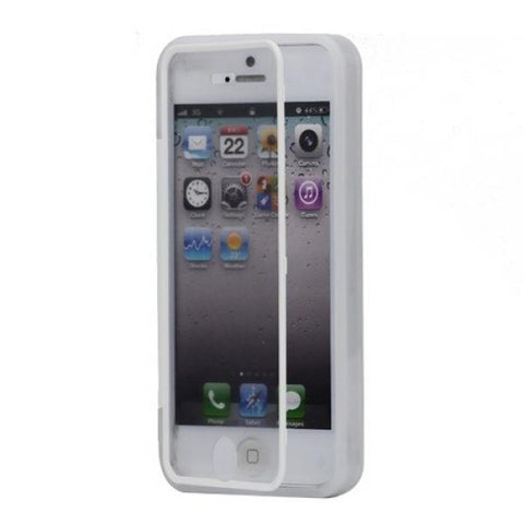 Tapa invisible blanca Funda iPhone 5/5S/SE