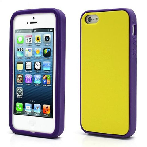Silicone Yellow Funda iPhone 5/5S/SE