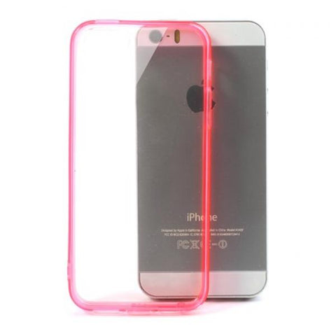 Hybrid rosa Funda iPhone 5/5S/SE
