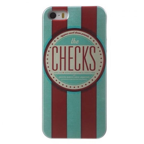 The Checks Funda iPhone 5/5S/SE