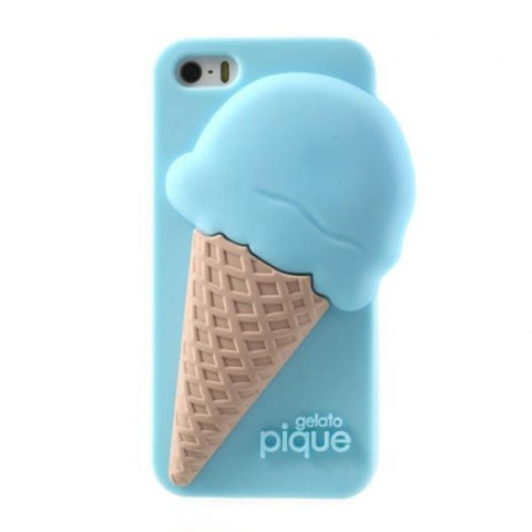 Ice Cream Pitufo Funda iPhone 5/5S/SE