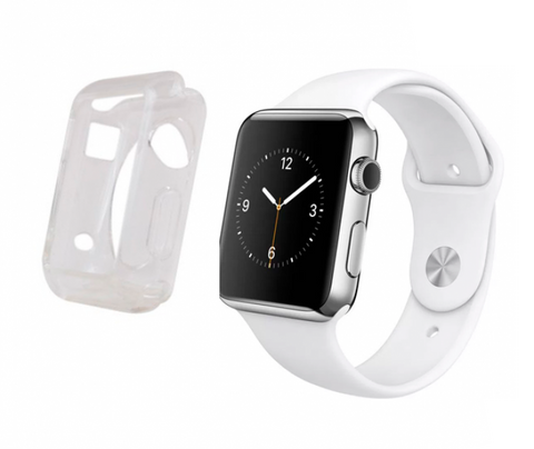 Gel transp Funda Apple Watch 42