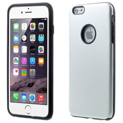 Protect aluminio plata Funda iPhone 6 Plus/6S Plus