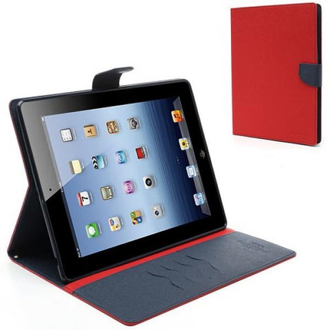 Booky Funda iPad 2/3/4 Rojo