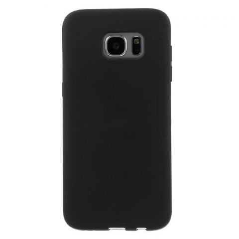 Gel negro Funda Galaxy S7 Edge