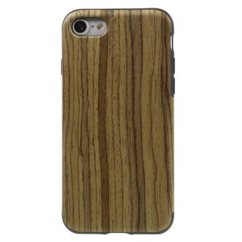 Madera and black Funda iPhone 6/6S