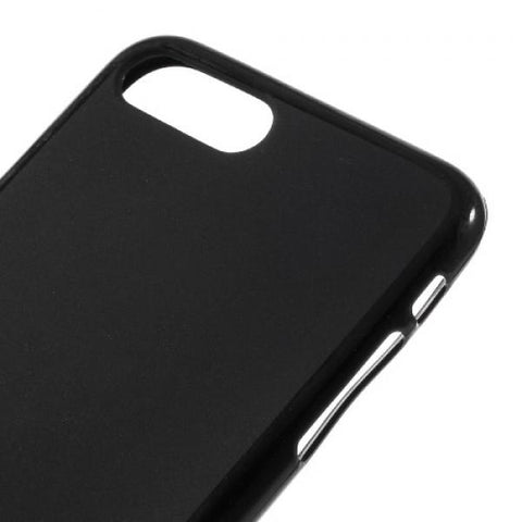 Gel negro mate Funda iPhone 7 Plus