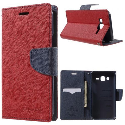 Booky rojo Funda Galaxy J5