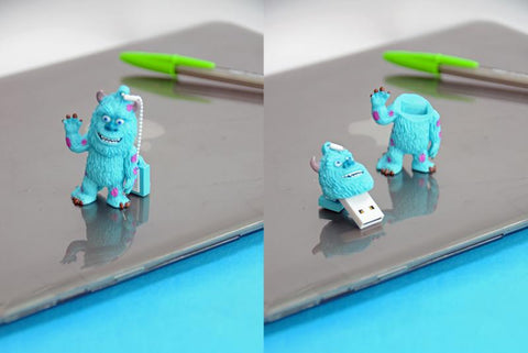 Pen Drive USB 16GB Monster - James Sullivan