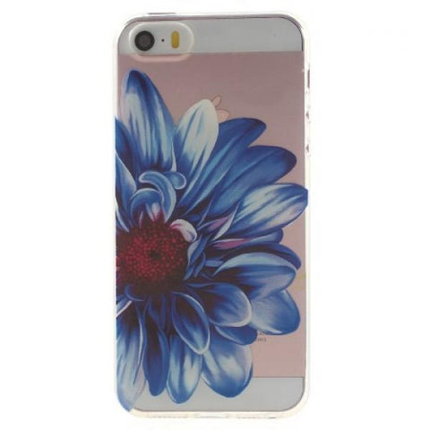 Tropical flower Funda iPhone 5/5S/SE