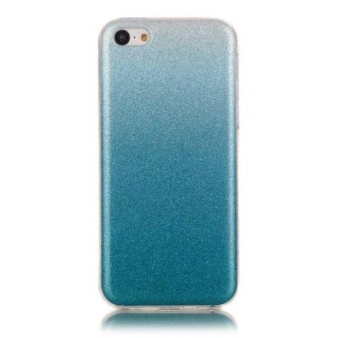 Degradado azul Funda iPhone 5C