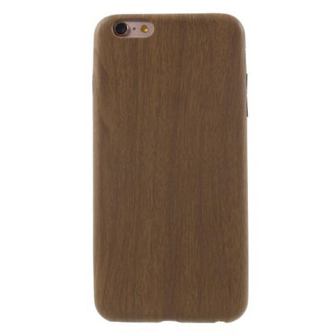 Madera blanda oscuro Funda iPhone 6 Plus/6S Plus