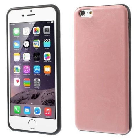 Leath gel rosa Funda iPhone 6 Plus/6S Plus