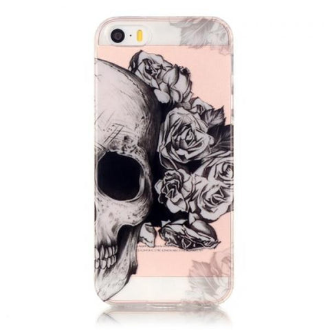 Rose Calavera Funda iPhone 5/5S/SE