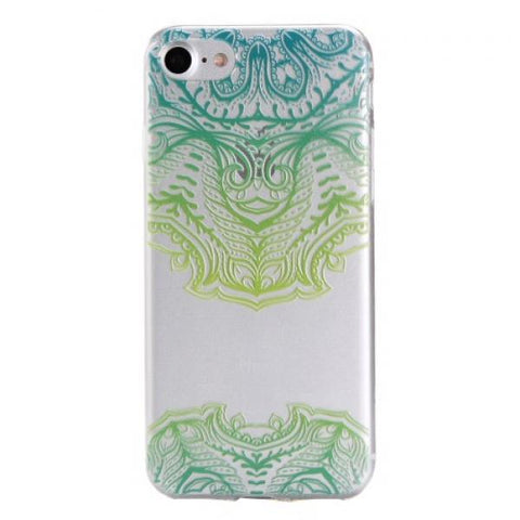 Mandala verde Funda iPhone 7