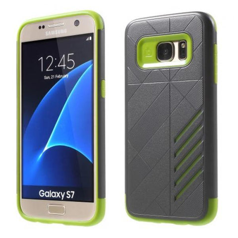 Armor Protect verde Funda Galaxy S7 Edge