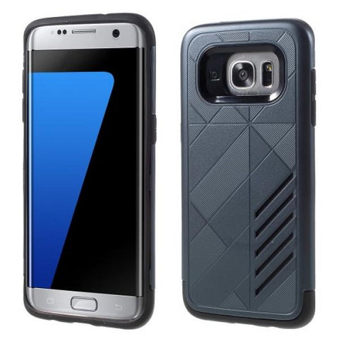 Armor Protect gris Funda Galaxy S7 Edge