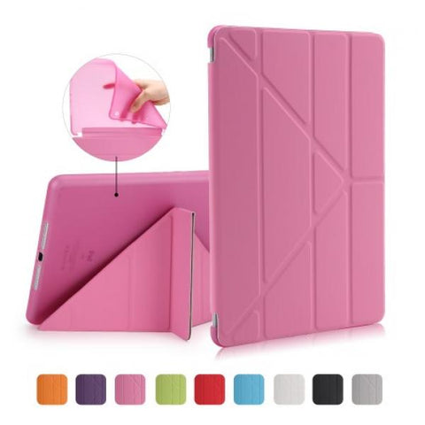 Bend Gel rosa Funda iPad Air