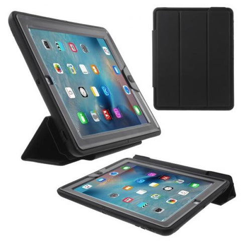 Super Protect con tapa negro Funda iPad 2/3/4