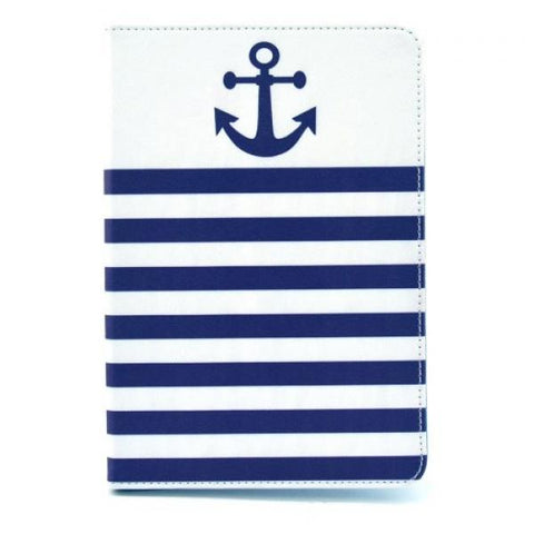 Anchor Stripes Funda iPad Mini 1/2/3
