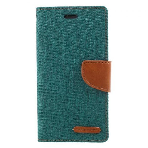 Booky Leath verde Funda iPhone X / XS