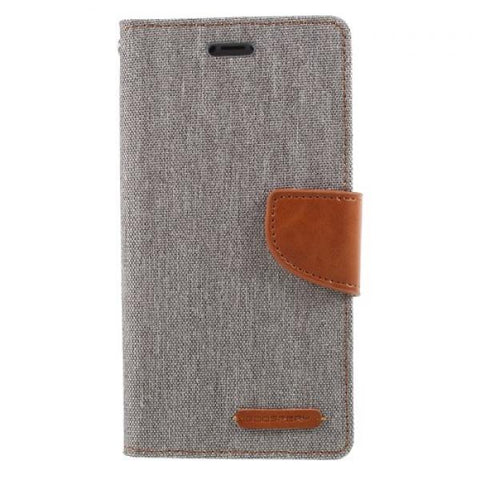 Booky Leath gris Funda iPhone X / XS