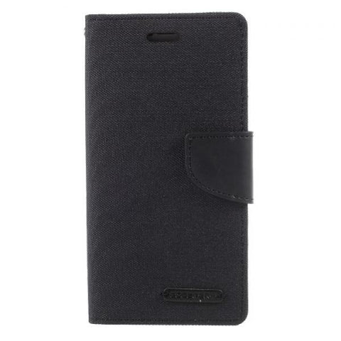 Booky Leath negro Funda iPhone X / XS