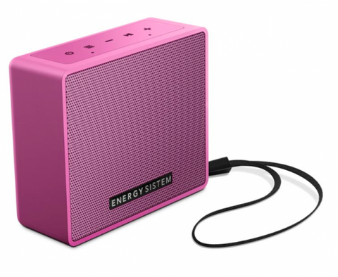 ES Altavoz Music Box 1+ rosa