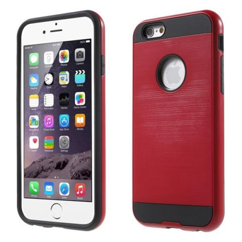 Rounded protect rojo Funda iPhone 5/5S/SE