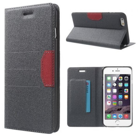 New Booky gris Funda iPhone 6 Plus/6S Plus