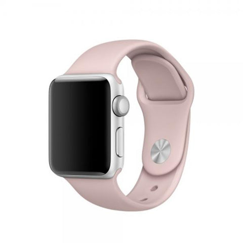 Correa Silicone rosa Correa 42mm / 44mm Apple Watch