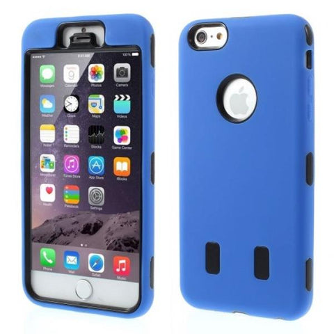 Double Protect Azul Funda iPhone 6 Plus/6S Plus