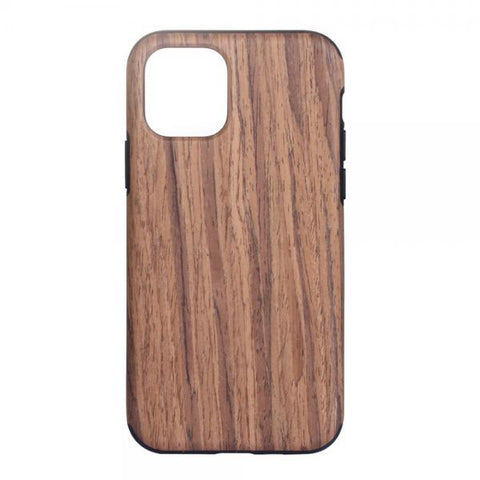Madera and black Funda iPhone 11