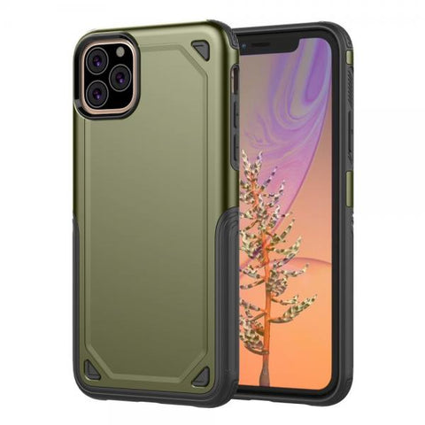 Rugged Protect Verde Funda iPhone 11 Pro Max
