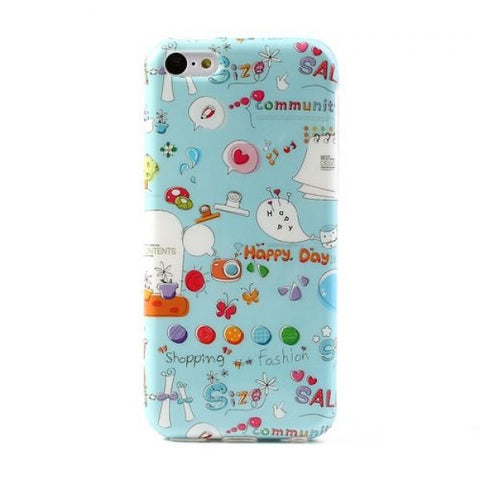 Happy day Funda iPhone 5C