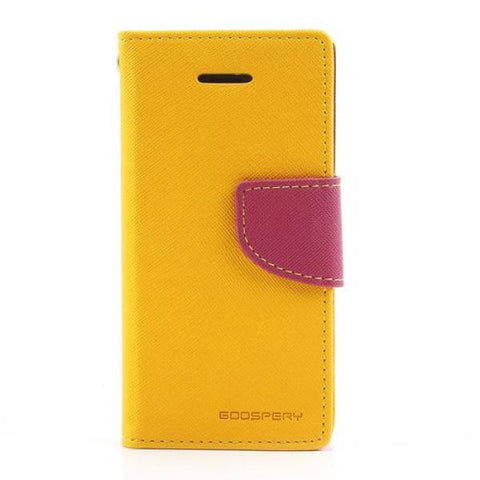 Booky amarillo/rosa Funda iPhone 5C